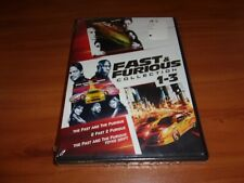 The Fast and the Furious Trilogy 1 2 3 (DVD, 2014 3-Disc Widescreen) NEW