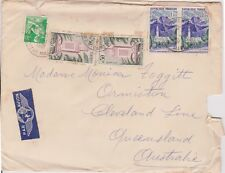 (K72-48) 1961 France Envelope to QLD AU (space filler) (AW)