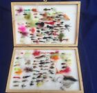 Vintage Lureflash Presentation Fly Box fishing Fly Flies Approx 265 mixed Flies