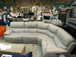 The Link Collection Curve Power Reclining Sofa RRP £3095