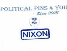 1960 RICHARD NIXON campaign TAB badge pin button pinback political presidential