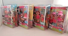 Mini Lalaloopsy Littles Sisters Doll Lot of 4 Rosy Bumps Trouble Dusty Trails