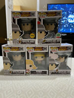 LOT of Funko Pops!  5-piece Inspector Gadget 892, 892 Chase, 893, 894, 895 LE