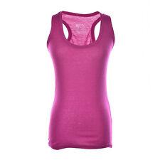 Women Lady Comfy Sports Gym Running Vest Jogging Yoga Singlet Tank Top 0hau Purple