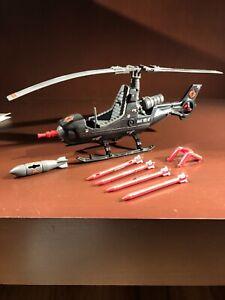 Gi Joe Cobra FANG Helicopter Complete 1983