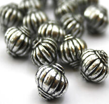 16 x Antique Silver Lantern Jewellery Making Beads 14 x 14mm