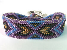 Bead Shack Tutorial Instruction & Kit - Cheyenne #2 Square Stitch Bracelet
