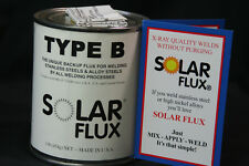 Harris S0FB01Type B Solar Welding Flux 1 lb. Can Free Shipping
