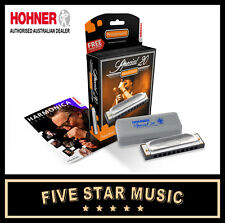 HOHNER Special 20 Harp DB Natural Minor Harmonica 10 Hole 20 Reed 560/20