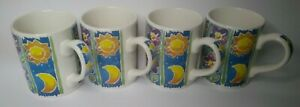 BETSY COOPER set of 4 mugs Sorrento made in England