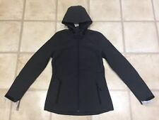BNWT O'NEILL PW SOLO SOFTSHELL JACKET Ladies Size 10 Black Zip Hooded RRP £79.99