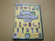 The Sims 2: Teen Style Stuff (PC)  **New & Sealed**