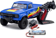 Kyosho 34361T2B Outlaw Rampage 1-10 EP 2WD Truck KT231P T2 Bleu RTR