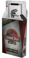 Officially Licensed Jurassic Park Gift Shop Dinosaur World Pack of Playing Cards
