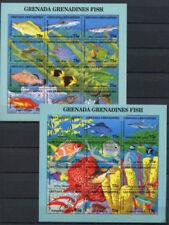 Fishing Grenadian Stamps (1974-Now)
