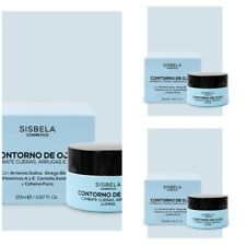 3 X 20 ml  - SISBELA - CONTOUR EYE CREAM ANTI-WRINKLE + COMBAT EYE BAGS