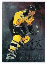 1998-99 Be A Player BAP Autograph Auto #9 Joe Thornton