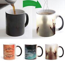 Halloween Zombies Heat Sensitive Color Changing Ceramics Coffee Cup Magic Mug