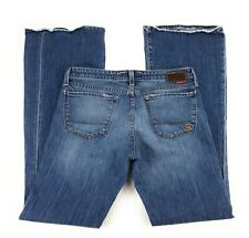 Big Star Flary Low Rise Stretch Distressed USA Blue Jeans Women's 30R