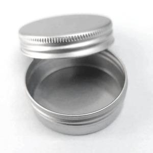 Alu Stülpdeckeldosen 10ml Schraubdosen Unterteil  Größe 36/12mm Dosen Leer Creme