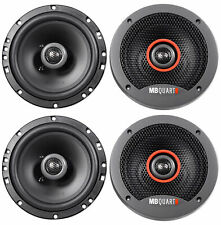 "(4) MB QUART FKB116 6.5"" 240 Watt 2-Way Car Audio Speakers"