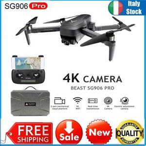 SG906 PRO GPS RC Drone 4K 5G Wifi a 2 assi Gimbal con valigia +1-batteria S1J5