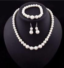 Conjuntos de bisutería de aleación perla sintética