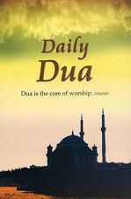 Daily Dua (English Arabic) Masnoon Duas Islamic Muslim Prayer Supplication Book
