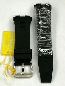 Original Rubber/Silicone Black Strap, Pins & Buckle for Invicta I-Force 16912