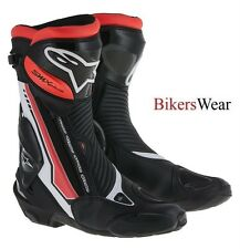 Alpinestars SMX S-MX Plus Red Fluo (233)  Motorcycle Racing & Sport Boots -EU 45