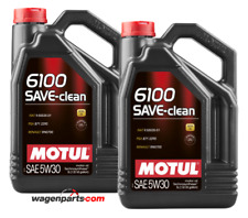 Aceite Motor Motul 6100 SAVE-CLEAN 5W30 C2 Fuel Eco DPF, Pack 10 Lts
