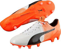Puma evoSpeed 1.5 Firm Ground Mens Football Boots - White