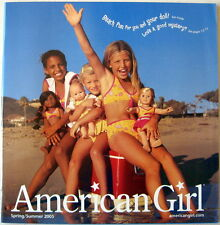 AMERICAN GIRL 2005 CATALOG HOPSCOTCH LOGAN HALLIE DOLL MARISOL SAMANTHA NELLIE