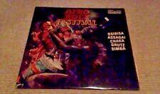 AFRO ROCK FESTIVAL 1st Contour UK LP 1973 A1/B1 Osibisa Assagai Simba Chaka Funk