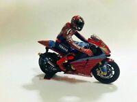 1:12 Conversion Minichamps Figure Figurine Marco Melandri Spiderman 2004 N Rossi