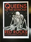 EMEK QUEENS OF THE STONE AGE 2013 A/E SCREENPRINT 27/100 MINT CONDITION