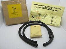 59 Chevrolet Passenger Trunk Lid Gutter Drain Tube Kit NORS BOWMAN PRODUCTS 7027