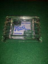 1950's Tivoli Beer Glass Ashtray