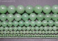"""Natural Aventurine Gemstone Round Beads 2mm 3mm 4mm 6mm 8mm 10mm 12mm 15.5"""""""