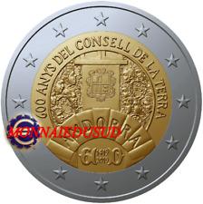 2 Euro Commémorative Andorre 2019 - Conseil de la Terre NEUVE