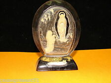 Jolie Vierge, centenaire de Lourdes, cristal Diami, 1958