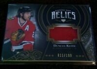 2016-17 BLACK DIAMOND DUNCAN KEITH DIAMOND MINE RELICS JERSEY 150/199 BLACKHAWKS