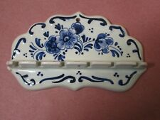DELFT HOLLAND SOUVENIR SPOON HOLDER
