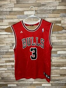Ben Wallace - Chicago Bulls jersey - Adidas Adult Large #3 Red