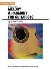 Melody & Harmony for Guitarists Learn to Play Present Gift MUSIC BOOK Guitar