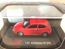 New Listing1/87 Ho Malibu International Diecast Alfa Romeo 147 Gta Automobile Red