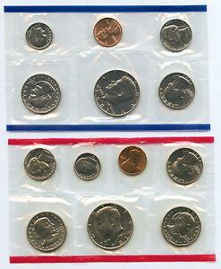 1981 Mint Set Uncirculated Coin Set U.S. Mint OGP Philadelphia & Denver