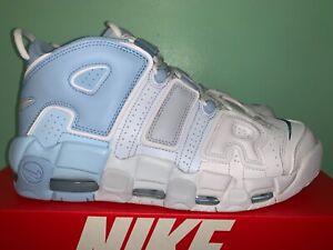 2021 Nike Air More Uptempo Psychic Blue Sky Blue Mens sz 8-14 DJ5159-400