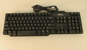 Dell RT7D50 W7658 USB Wired Keyboard Rev A01 104 Keys