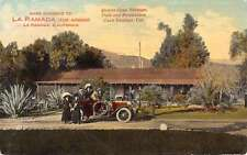 Casa Verdugo California La Ramada Street View Antique Postcard K38481